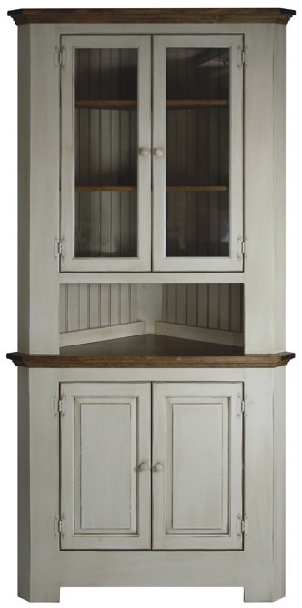 Hidden Acres Corner Hutch-332x667