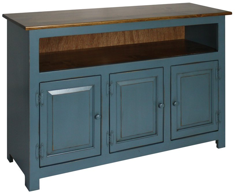 Hidden Acres Entertainment Center Blue-814x667